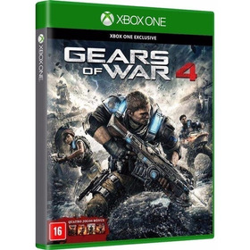 5 Jogo - Gears Of War 4 3 2 1 Judgment Midia Fisica Xbox One