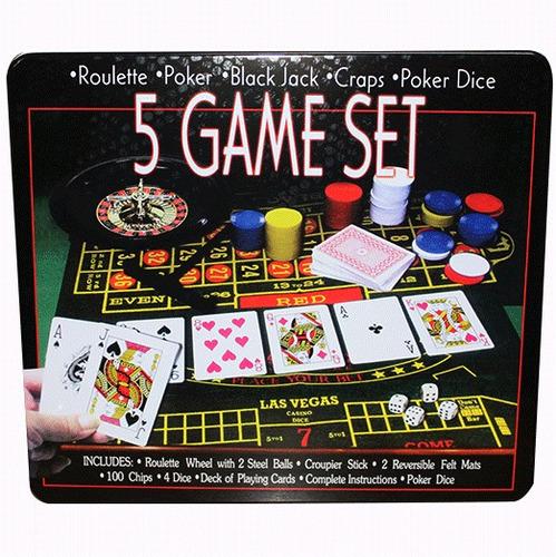 5 juegos casino ruleta poker blackjack poker dados 8160-0801