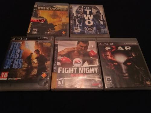 5 juegos de ps3 originales
