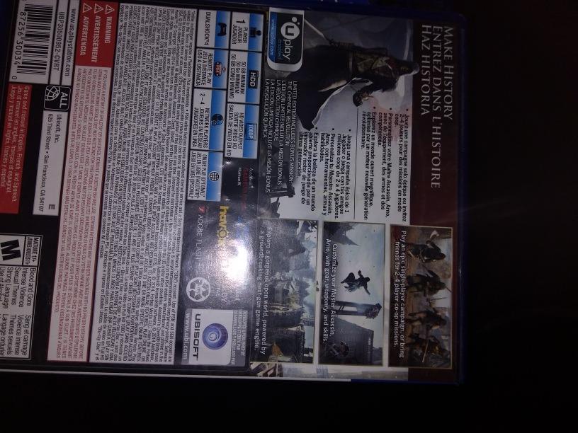 5 Juegos De Ps4 Baratos 3 900 00 En Mercado Libre