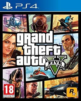 5 juegos digitales - gta v uncharded the last of us