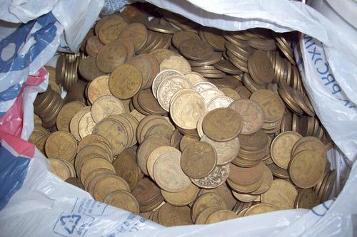 5 kg moedas  amarelas de 2 cruzeiros para fazer aliança kg