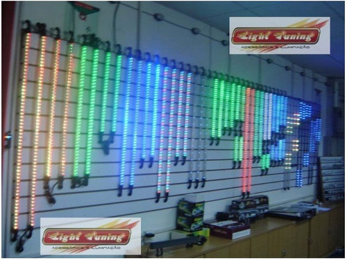 5 kit neon externo! p/ gol golf uno palio corsa  30 barras