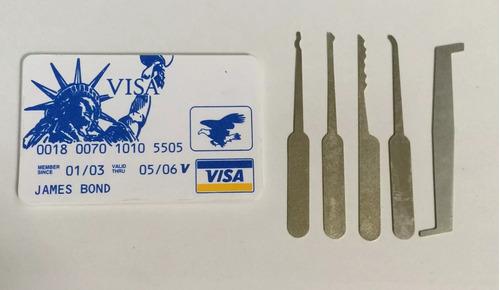 5 kits de cartão james bond