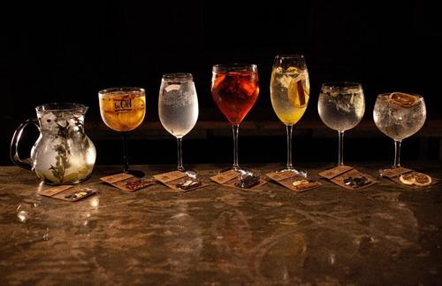 5 kits de especiarias para gin tônica (30 sachês)