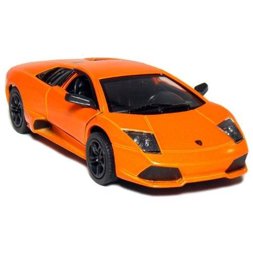 5 Lamborghini Murcielago Lp640 Escala 136 Naranja De Kin 1 351