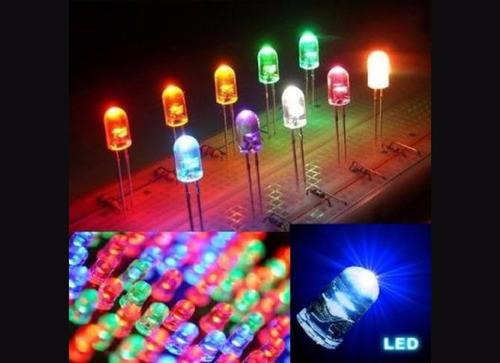5 led de colores