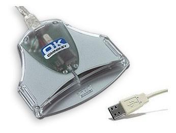 5 leitoras smartcard omnikey 3021 para certificado digital