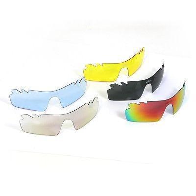 5 Lentes Polarizados Gafas Ciclismo Escalada Pesca Goog-8144 ... 8e310a808c11
