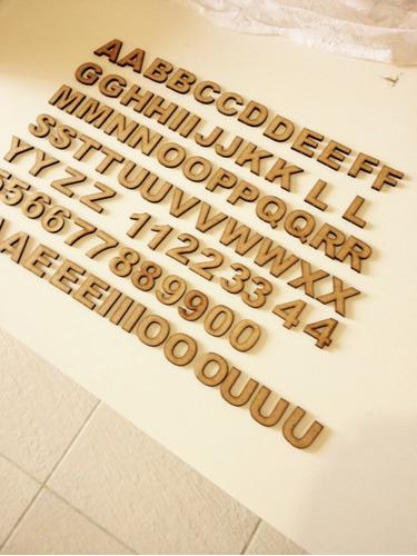 5 letras mdf 3 cm de altura arial  black frete r$9,00