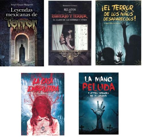 5 Libros De Leyenda, Misterio Y Terror Nuevos Envio Gratis