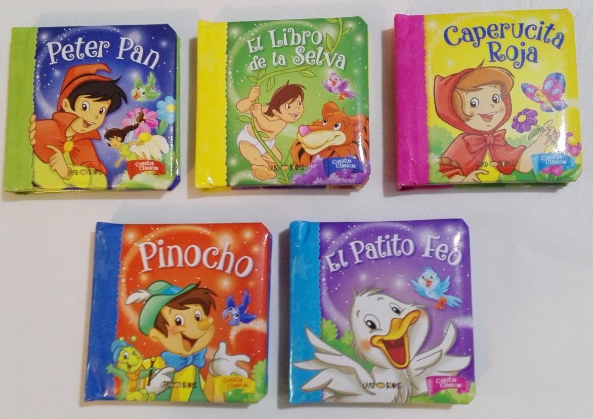 95ed7c0bbc 5 Libros Duros En Cajita Cuentos Clásicos Didactikids -   399