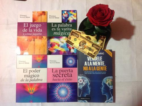 5 libros, florence scovel,  jürgen klaric, pnl, neuroventas