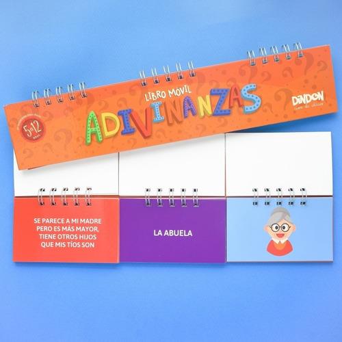 5 libros móviles - juguetes didácticos para niños