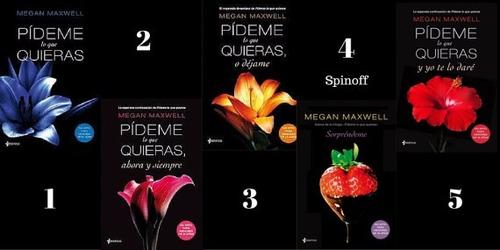 5 libros pídeme lo que quieras (saga completa) +sorprendeme