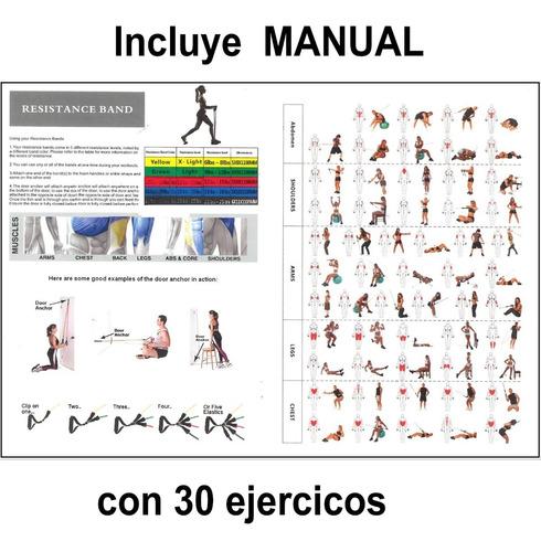 5 ligas de resistencia ejercicios ligas elásticas crossfit
