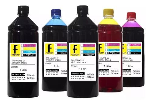 5 litros de tinta para epson ecotank l300 l465 l380 l455
