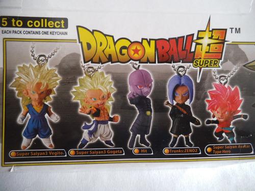 5 llaveros dragon ball bandai