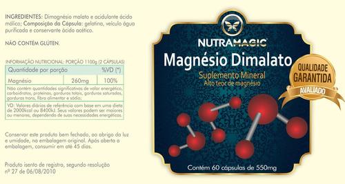 5 magnesio dimalato nutraceuticos - promoção