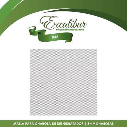 5 mallas flexible para deshidratador de 5 y 9 excalibur p43