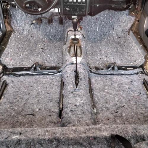 5 mantas feltro antiruído p/ interior automotivo - 1x1 metro