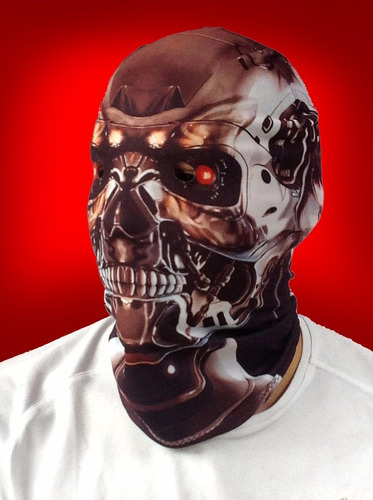 5 máscaras de lycra varios personajes