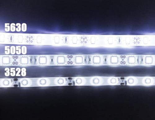 5 metros de tira led la más potente 5630 rollo uso interior