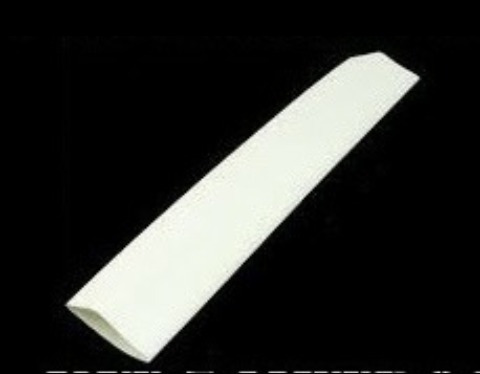 5 metros espaguete isolante tubo termo retratil branco 6mm