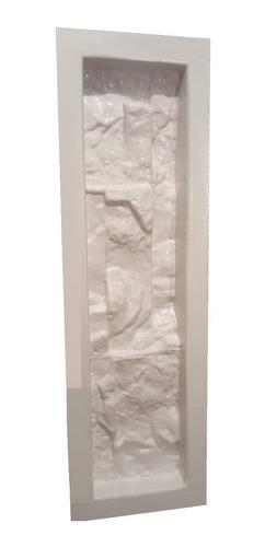 5 moldes pared piedra fachada fachaleta cultivada