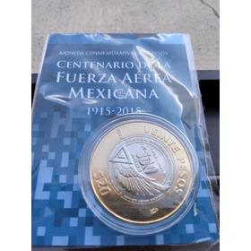 5 Monedas 20 Pesos Aérea, Morelos Dniii, Marina Constitución