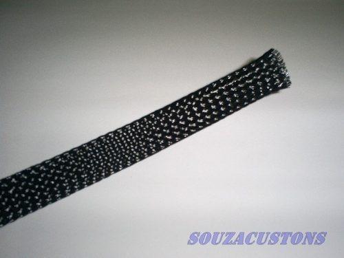 5 mts  techflex sleeve  malha nautica para cabo até 70mm²