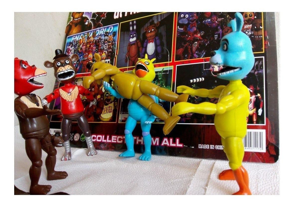 5 Muñeco At Freddy Juguetes Nights Five 14cm Para Navidad 8wPNk0OXZn