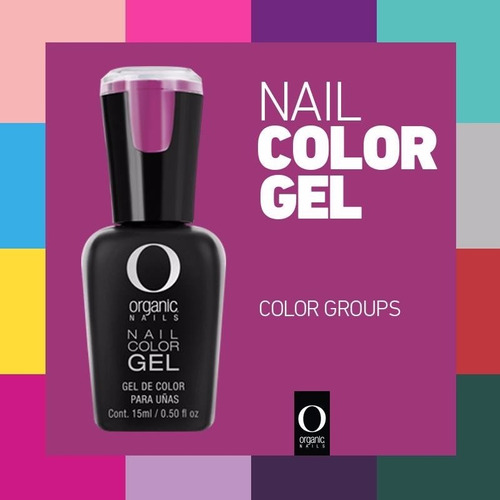 5 nail color gel mejor q gelish organic nails envio gratis