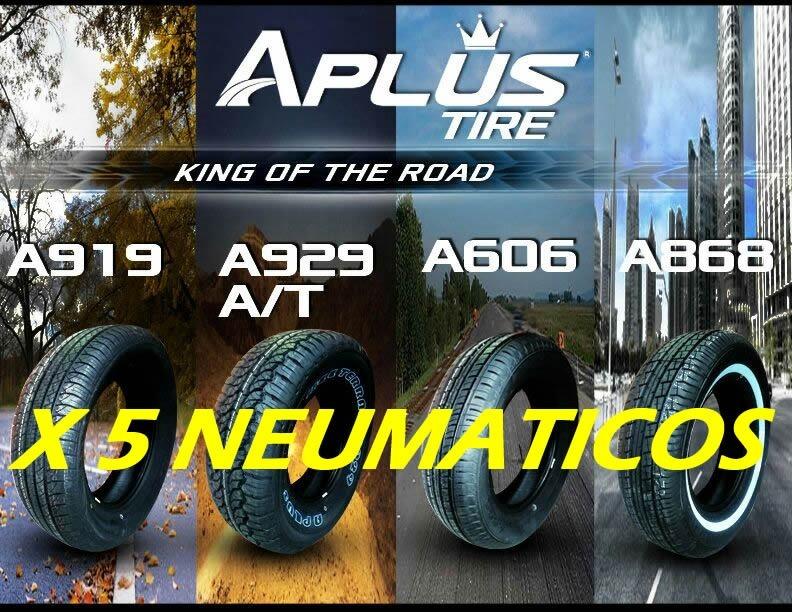 5 Neumaticos Aplus 265 70r16 A919 Autos Grandes Y Camionetas