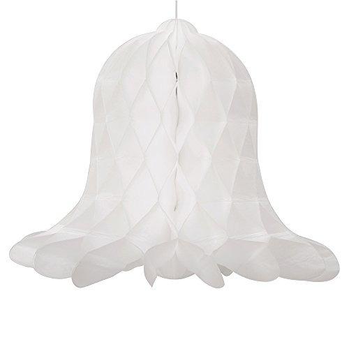 5 \nido de abeja blanca de la boda de bell decoraciones, 5c
