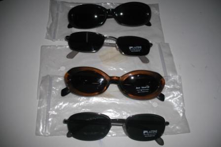 682700541 5 Oculos De Sol Platini E Jean Monnier Novos, Originais - R$ 296,00 ...