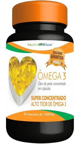 5 omega3 - omega 3 nutriblue - nutri blue super concentrado