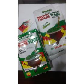 5 Pacotes De 1kg - Erva Mate Ponche Verde Moída Grossa