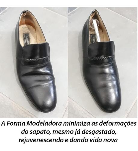5 pares de modelador de calçados e sapatos masculinos ordene