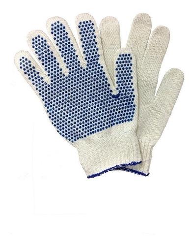5 pares guantes trabajo algodon guante moteado kaosimport 11