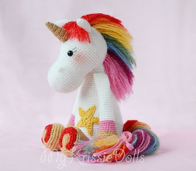 5 Patrones Unicornios Amigurumis Crochet-ingl.esp.x5 - $ 50,00 en ...