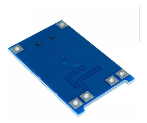 5 pçs carregador bateria de lítio tp4056 c/proteção