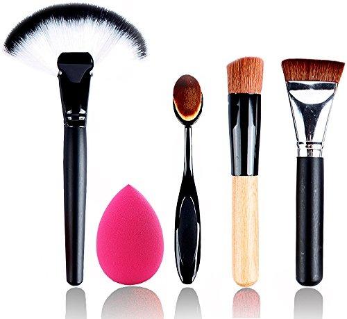 5 pcs dewstrong best makeup brush set professional premium s