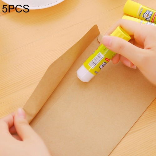 5 pcs no toxico fuerte adhesion pegamento barra solida