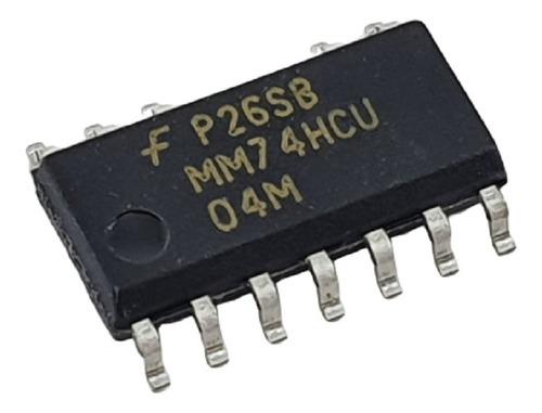 5 peças ci circuito integrado hcu04 74hcu04 sop14