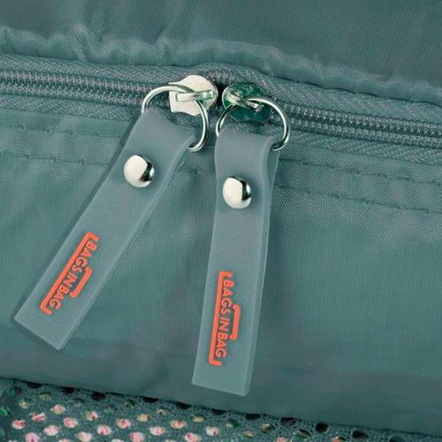 5 peças organizador ebags bolsa viagem necessáire casa mala