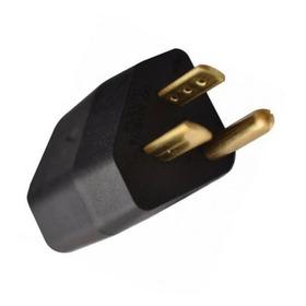 5 Peças Pino Plug Adaptador Tripolar Reverso 2p+t 15a Nbr