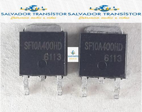 5 peças  sf10a400hd sf10a400 10a400hd 10a400 smd  envio jã