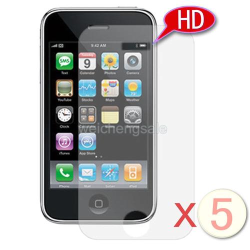 5 películas crystal japonesas hd iphone 3g 3gs frete grátis!
