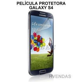 5 Películas Protetora Transparente Galaxy S4 (i9500 - I9505)